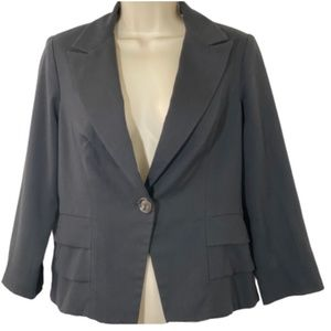 Coat CAbi Size 4 Bossy Blazer Jacket Style #230